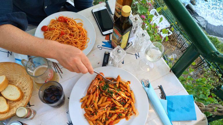 Restaurants in Cinque Terre