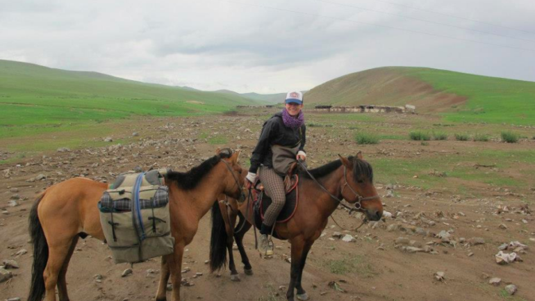Paardentrek in Mongolie