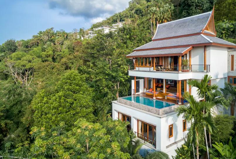 Phuket Thailand Villa View