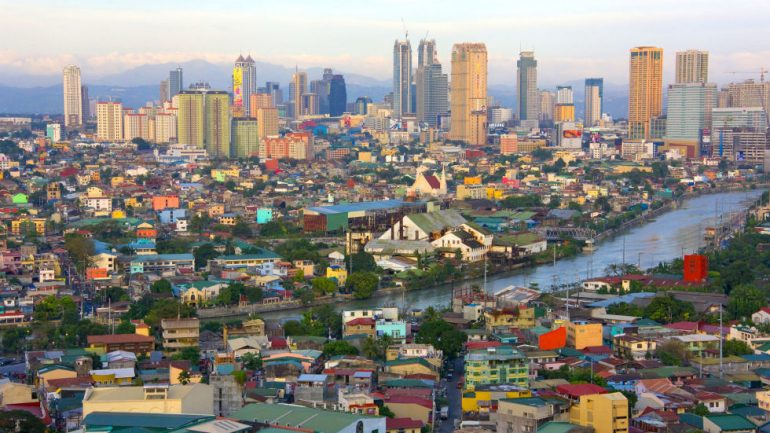 manila filipijnen rooftop