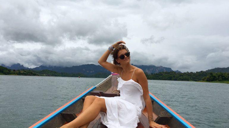 Thailand Kao Sok National Park regen tijdens vakantie