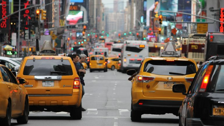 Taxi in het buitenland