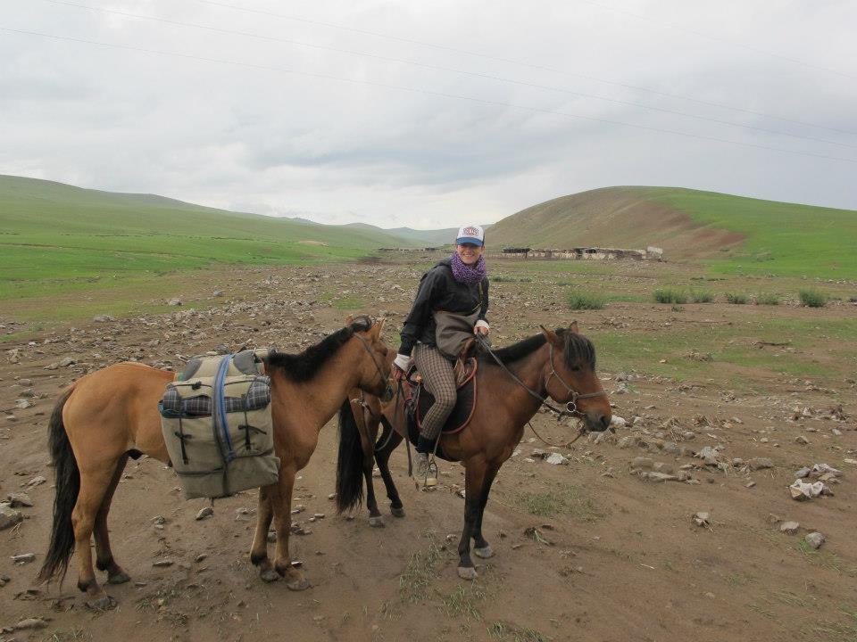 Paardrijden Mongolië