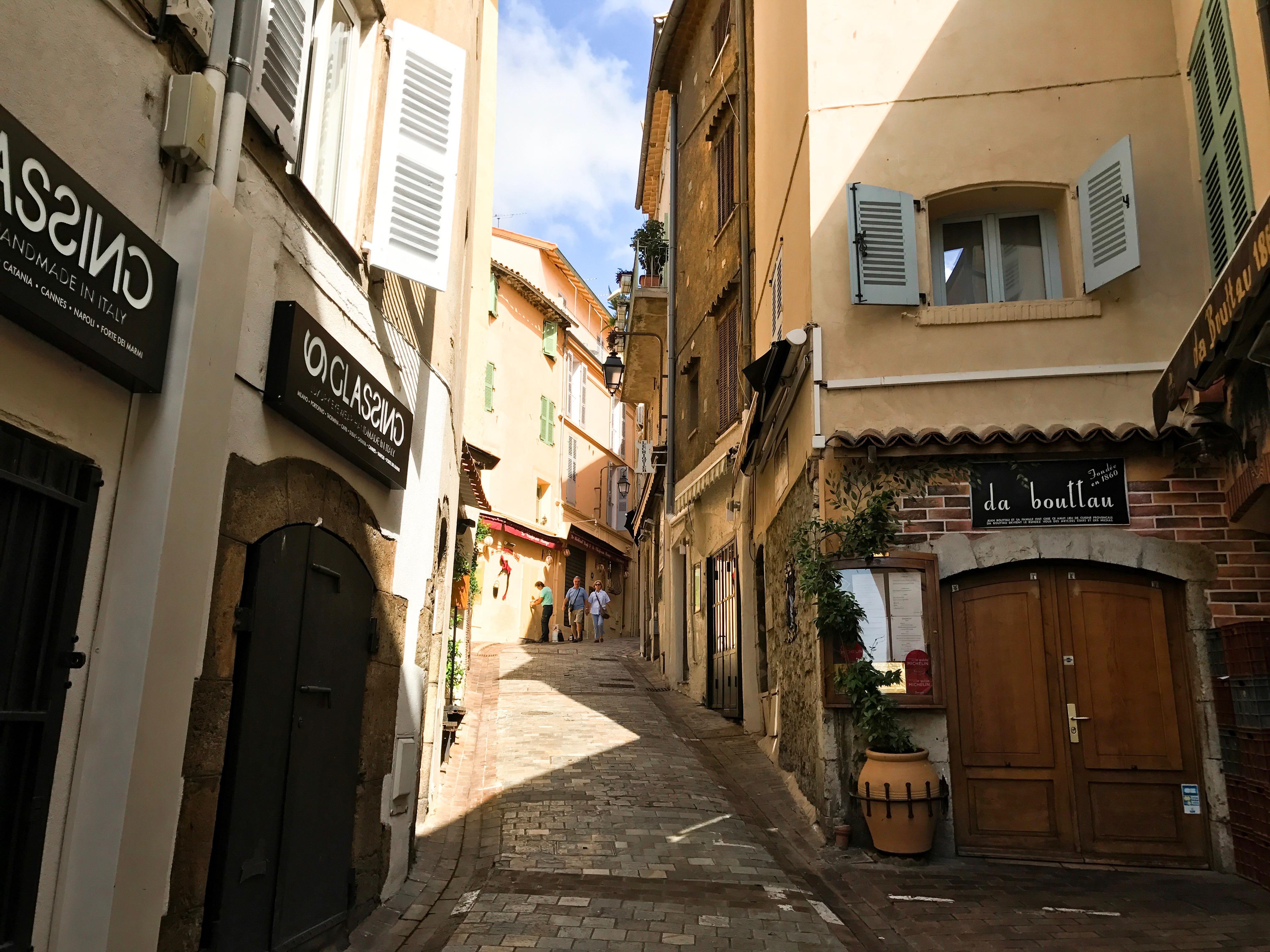 Het oude en leukste gedeelte van de stad