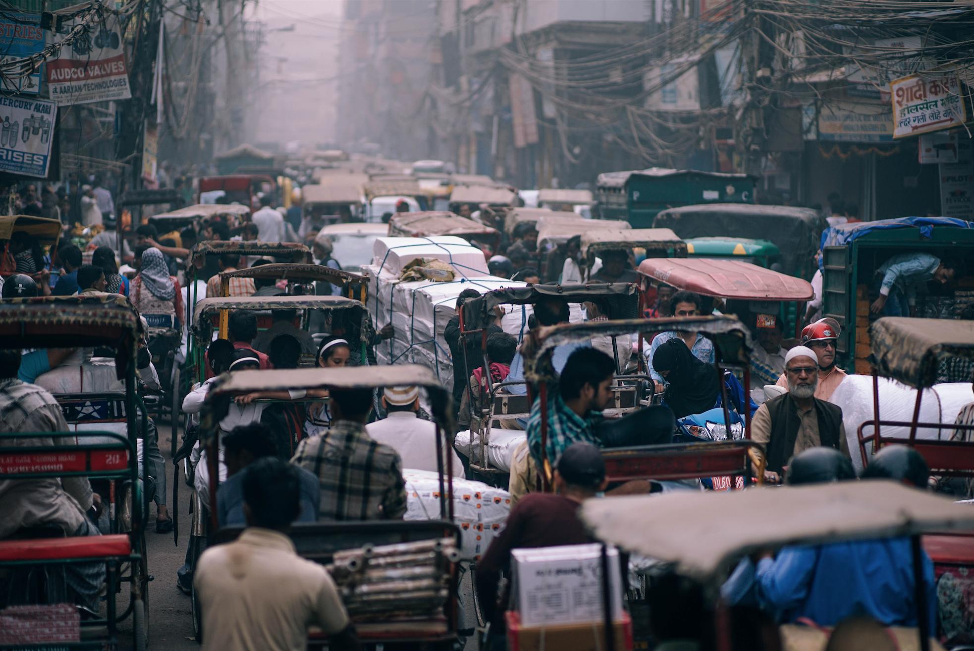 Welkom in Delhi, het échte India