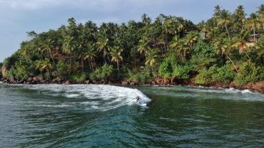 Domweg gelukkig in een klein vissersdorpje in Sri Lanka