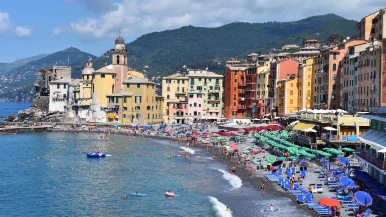 Dagtrip langs Camogli, San Fruttuoso en Portofino