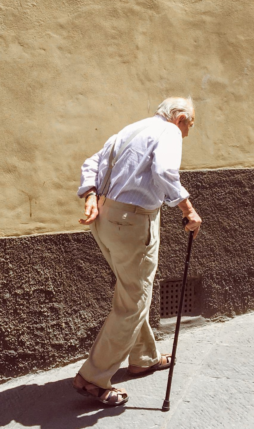 De schoonheid van Italiaanse bejaarden in beeld